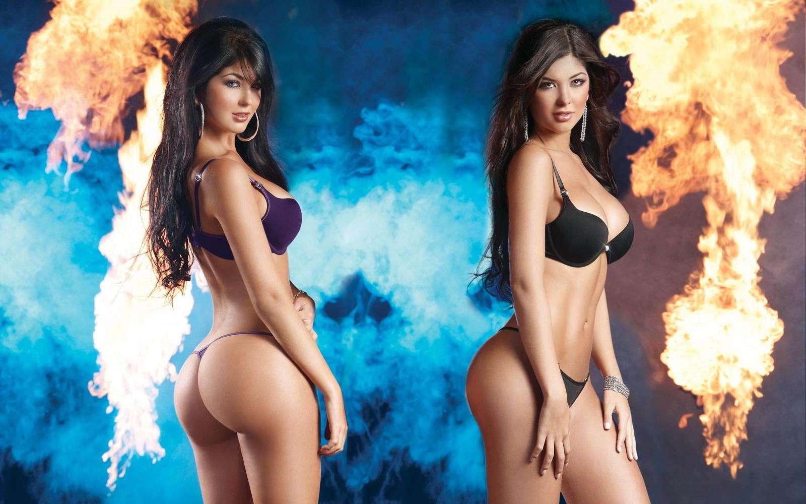 Gemelas Davalos – Sexy Fotos Catálogo Bésame Foto 81