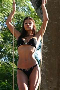 Renata Gonzalez Fotos En Bikini Negro Foto 18