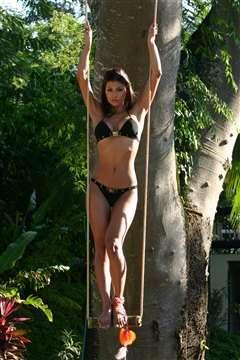 Renata Gonzalez Fotos En Bikini Negro Foto 15