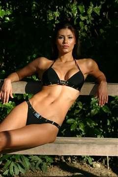 Renata Gonzalez Fotos En Bikini Negro Foto 9